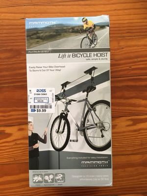 Mammoth lift bicycle rack kit for Sale in Orlando, FL