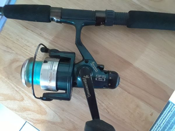Browning Silaflex SFS 14 fishing pole with reel for Sale in Phillips Ranch,  CA - OfferUp