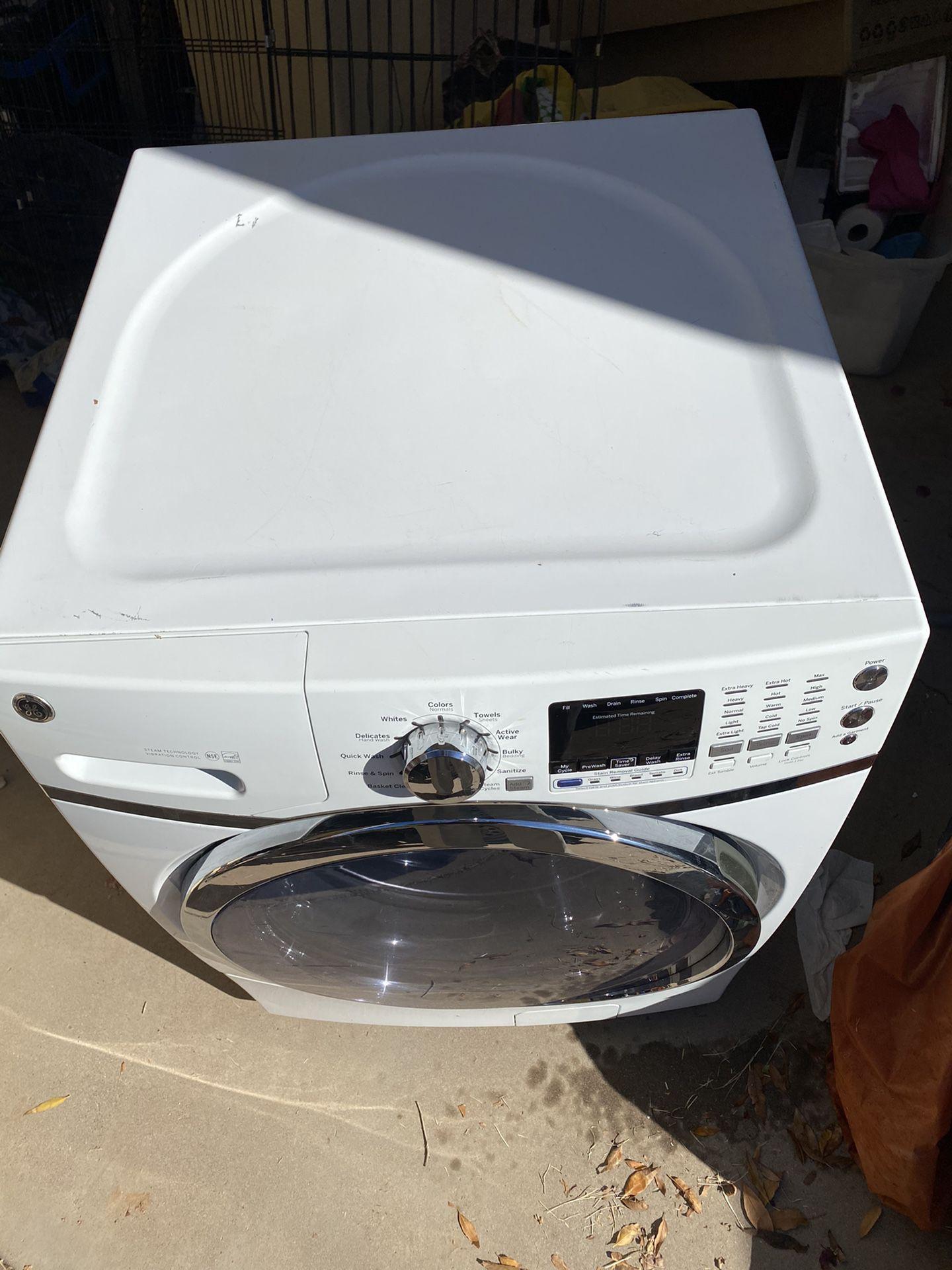 LG White GE Washing Machine