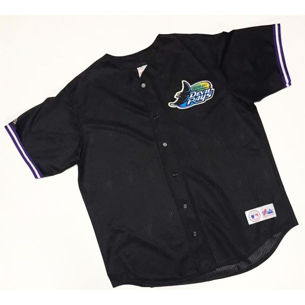 half off 8e95c 2908a VINTAGE MAJESTIC TAMPA BAY DEVIL RAYS MLB MESH BASEBALL JERSEY for Sale in  Tempe, AZ - OfferUp