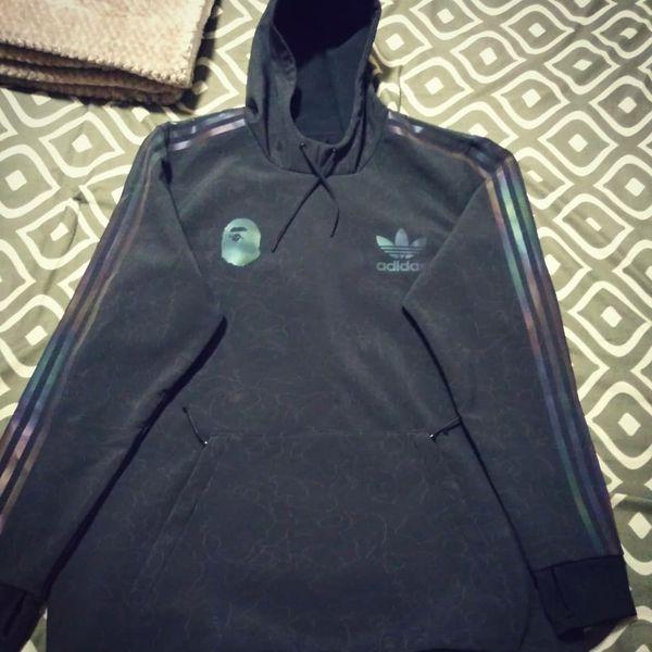 adidas tech hoodie bape