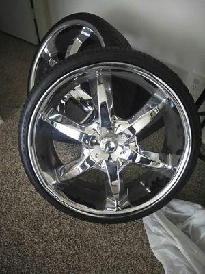 22 Chrome Wheels For Sale In Atlanta Ga Offerup