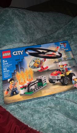 LEGO City Fire Helicopter Response 60248. NEW! Thumbnail