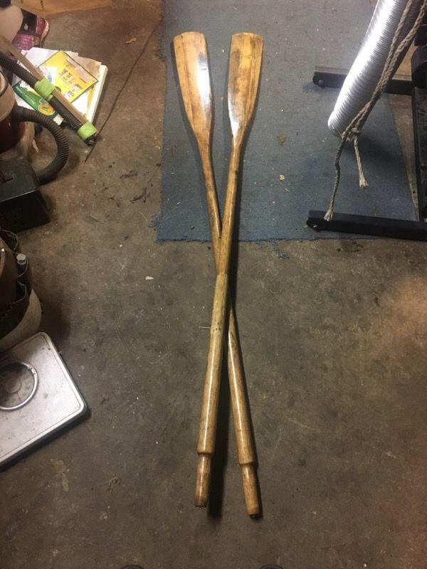 6 Ft Wood Oars For Sale In Aberdeen Wa Offerup