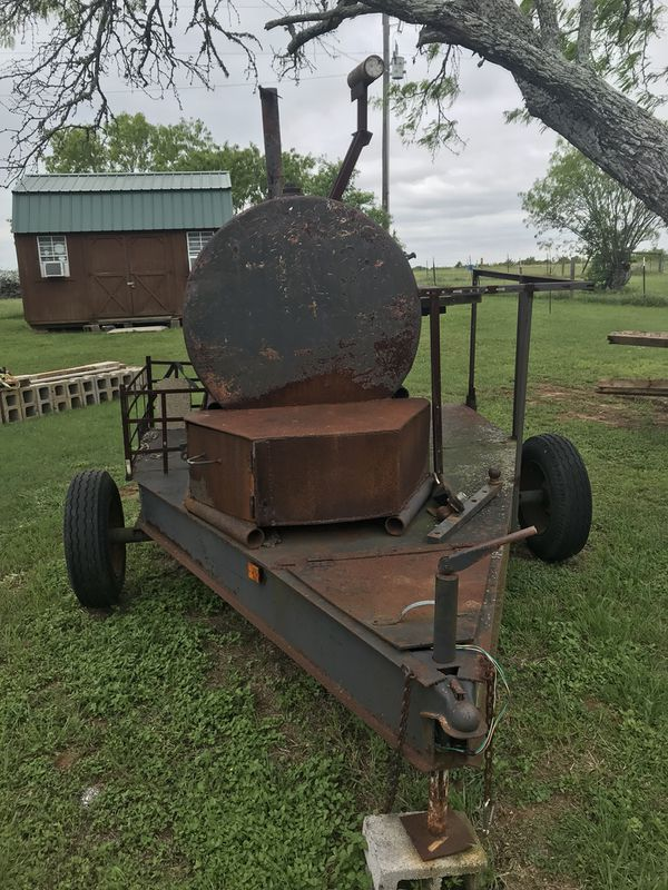 Homemade BBQ Trailer with title paperwork
