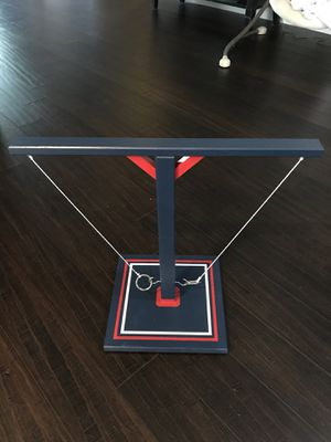 Tabletop hook and ring game - Texans theme for Sale in Richmond, TX