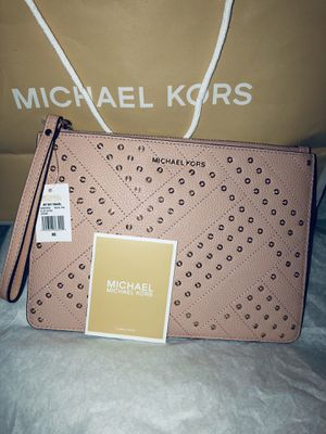 Authentic Michael KORS Jet Set Large Wristlet Brand New With Tags for Sale in Manassas, VA