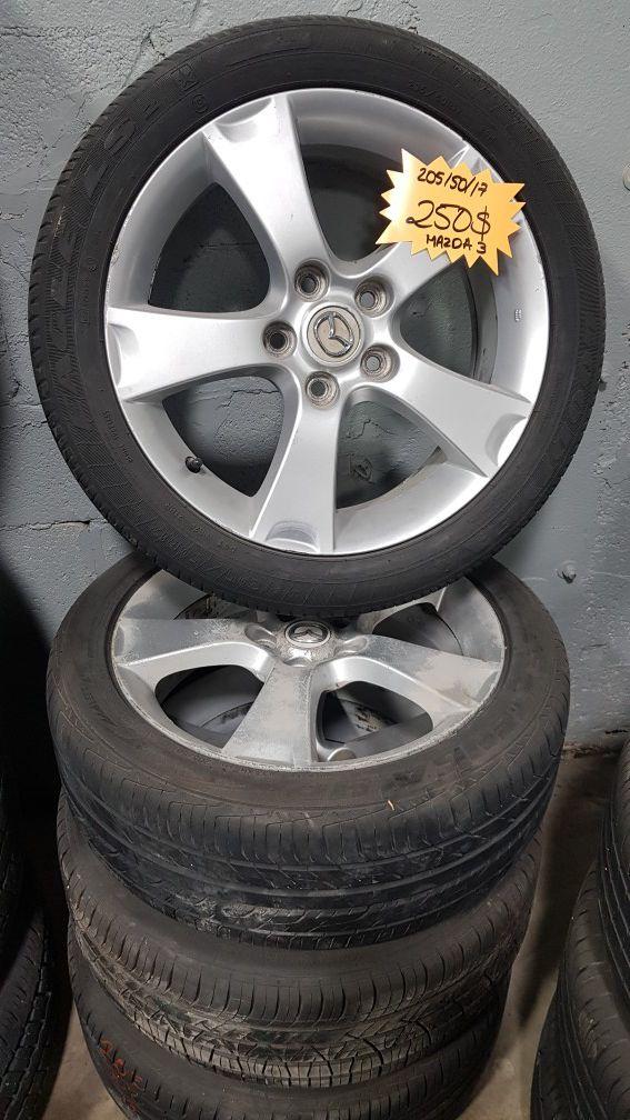Mazda 3 Rims >> Mazda 3 Rims And Tires For Sale In Opa Locka Fl Offerup