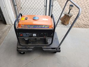Photo 3000 Watt 6.5 Hp. Generator