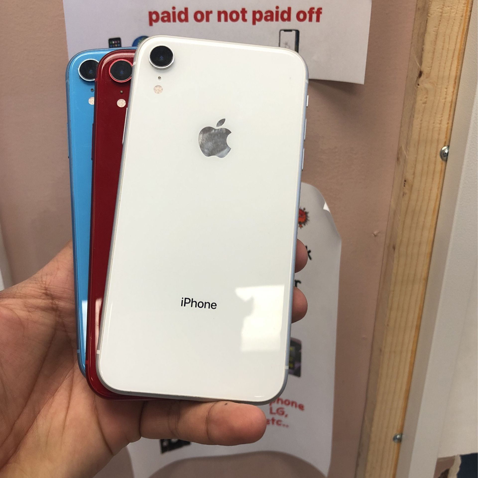 iPhone XR All Carriers 64GB