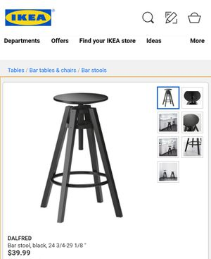 Ikea bar stool (two available) for Sale in Columbus, OH