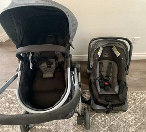 Photo Evenflo Travel System Car Seat And Stroller