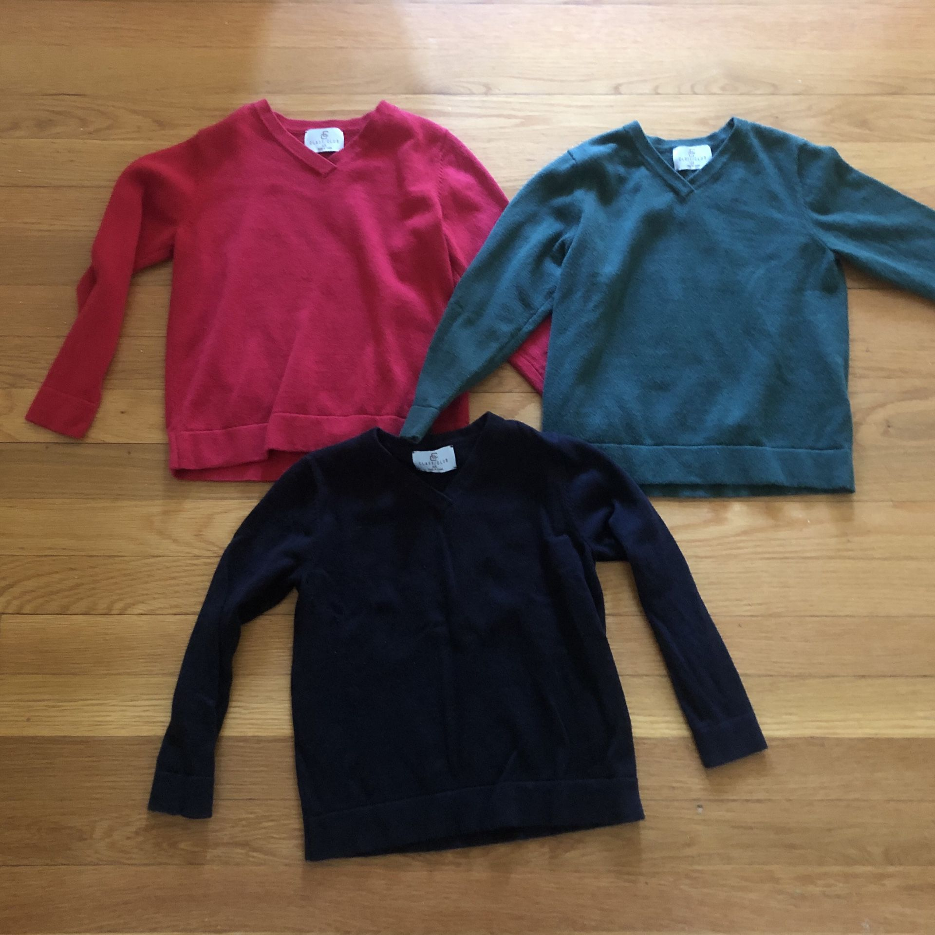 4/5 and 2/3 sweaters