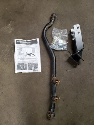Photo Jeep tj adjustable track bar. 4-6 inch lift.