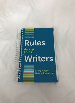 Rules for writers book for Sale in Ashburn, VA