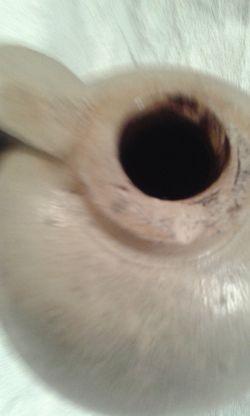 Civil war salt glazed jug! dug up in the 1970-s 1861-1864 -original! Thumbnail