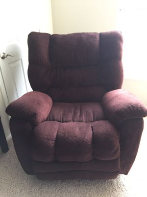 Microfiber Rocker Recliner for Sale in Rockville, MD