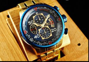 Brand New w/Box BigFace Invicta Aviator 18k Gold Chronograph Men's Watch for Sale in Leesburg, VA