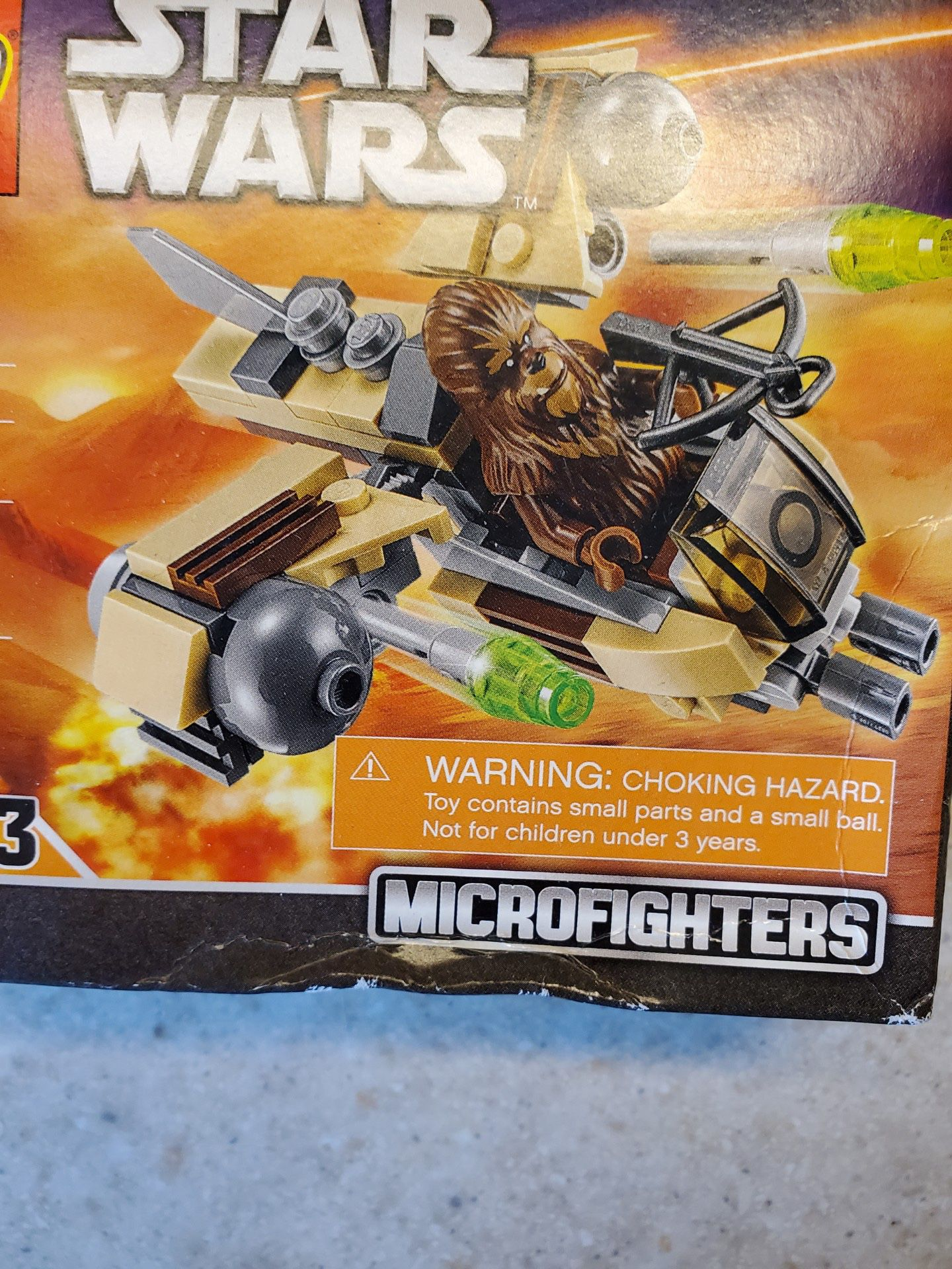 LEGO Star Wars Wookiee Gunship-NEW