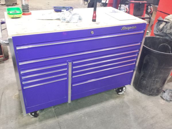snap-on krl7022 plum crazy purple toolbox for sale in graham, wa ...