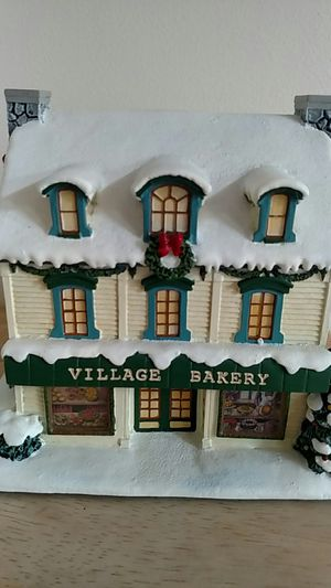 Norman Rockwell's Christmas village Bakery for Sale in Dale City, VA