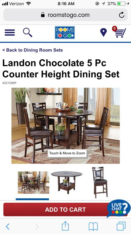 1c6f92354a8c Landon s 5 pc dining table from Rooms to Go for Sale in Austin