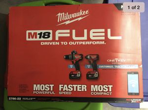 brand new m18 fuel one key 2-tool combo kit 2796-22 for Sale in Hillsboro, OR