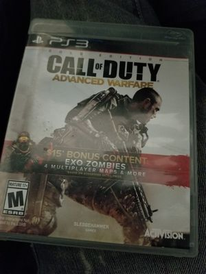 Call of duty advance warfare and call of duty 3 for Sale in Columbus, OH