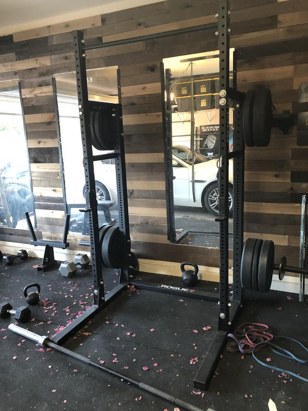 Mark bell visits rogue fitness headquarters arnold classic