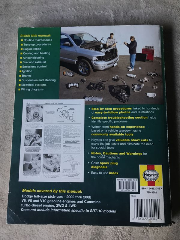 2008 dodge ram 2500 truck gas owners manual
