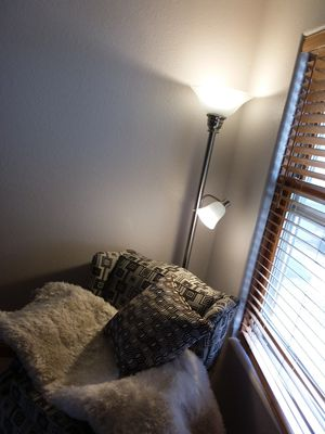 Beautiful led 2 pronged lighting floor lamp for Sale in Rio Rancho, NM