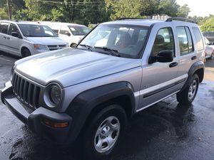 2005 Jeep Liberty MANUAL 5 SPEED only 120km clean title for Sale in Washington, DC