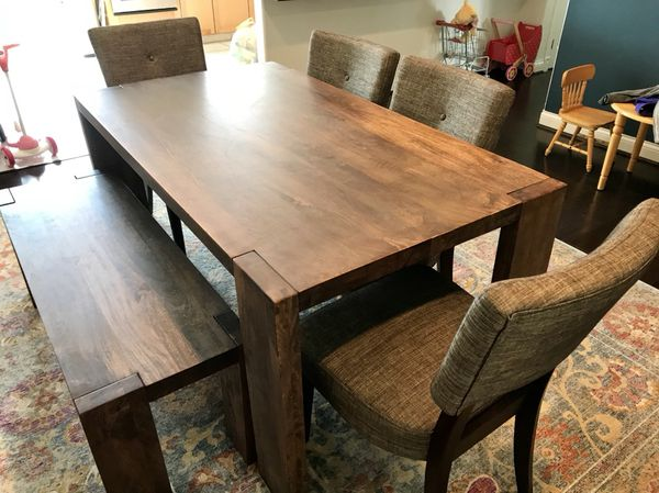 Phenomenal Cb2 Blox Dining Room Set For Sale In Midway City Ca Offerup Caraccident5 Cool Chair Designs And Ideas Caraccident5Info