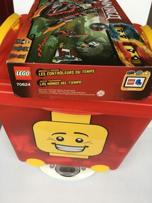 LEGO Minifigures, Bricks, Accessories & Rolling Storage Basket...10 POUNDS! for Sale in Grand Prairie, TX