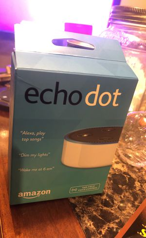 Brand new echo dot for Sale in Baltimore, MD