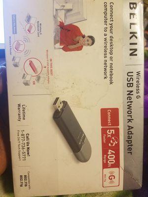 Belkin Wireless USB Network 802.11 for Sale in West Valley City, UT