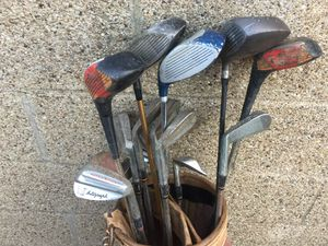 Various golf clubs and bag for Sale in Jefferson Hills, PA