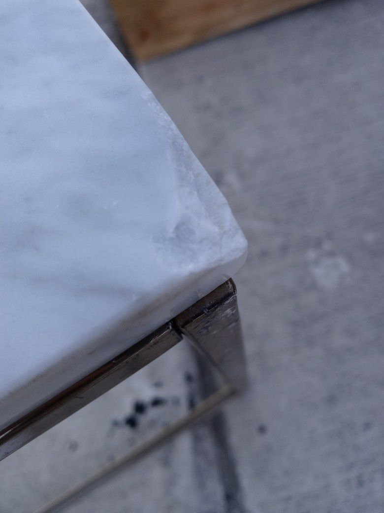 West Elm Marble Table