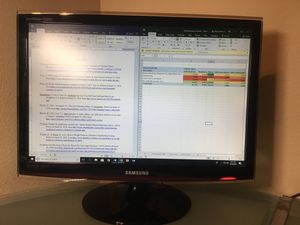 """22"""" Samsung SyncMaster Computer Monitor / HD HDTV for Sale in Austin, TX"""