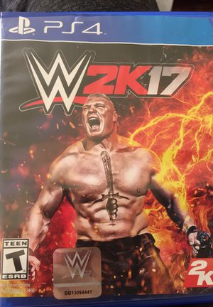 WWE 2K17 for Sale in Los Angeles, CA
