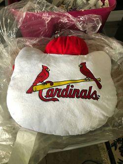 St Louis Cardinals Pillow Thumbnail