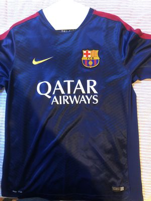 FC Barcelona Practice Jersey Youth Large for Sale in Atlanta, GA