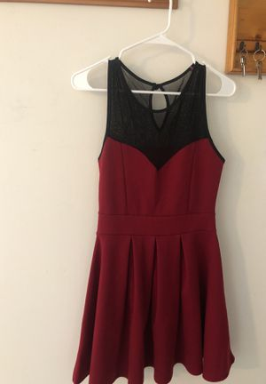 A-line maroon dress for Sale in Baltimore, MD