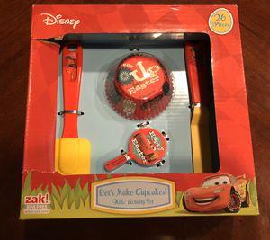 Photo New Disney Cars Easter Cupcakes Kids Baking Set