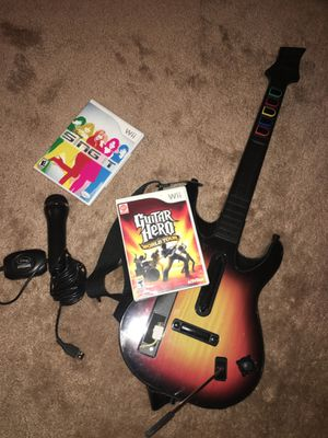 Guitar hero for Nintendo Wii for Sale in Centreville, VA