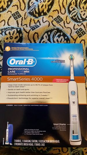 Oral-b professional care smart series 4000 for Sale in Springfield, VA