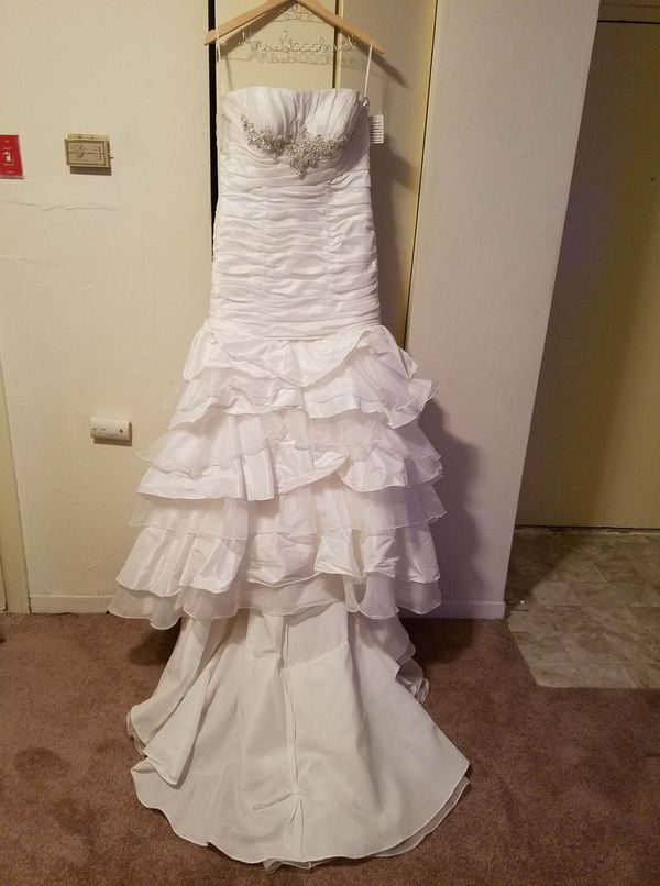 Size 14 Mermaid Wedding Dress For Sale In Virginia Beach Va Offerup