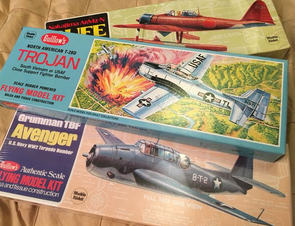 3 Flying Model Airplane Kits - Guillows for Sale in Mims, FL - OfferUp