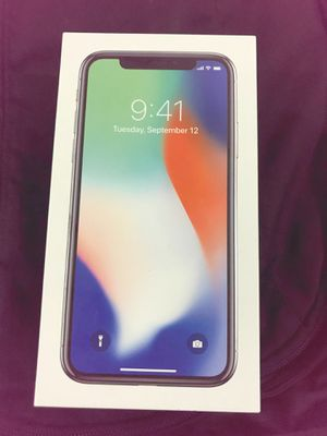 iphone x 256GB for Sale in Owings Mills, MD