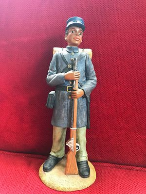 """""""Kansas Infantry"""" in the Sarah's Attic: Black Heritage Collection for Sale in Hanover, MD"""